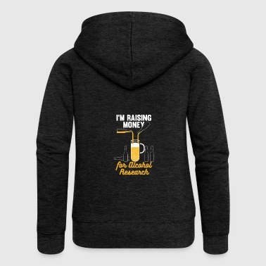 Craft beer tshirt, funny beer design - Women's Premium Hooded Jacket