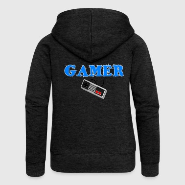 RETRO GAMING - Women's Premium Hooded Jacket