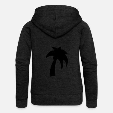Palm Palm tree - Women's Premium Hooded Jacket