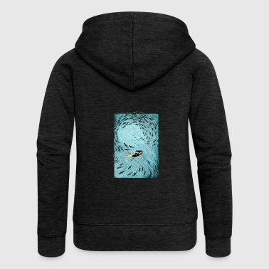 Under the water - Women's Premium Hooded Jacket