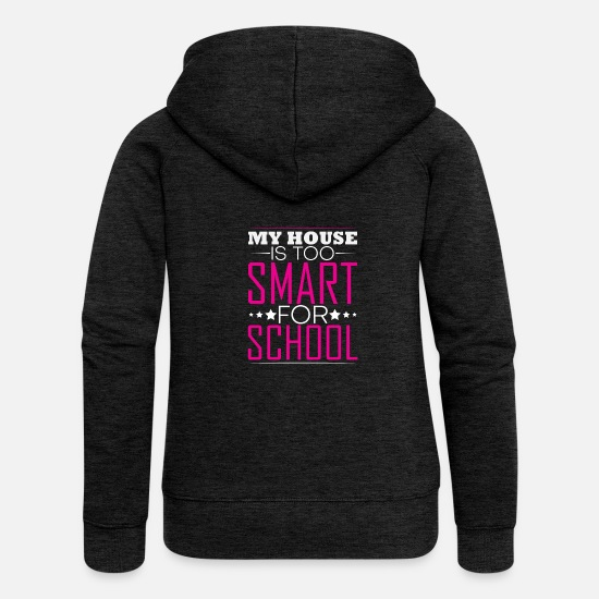 Birthday Hoodies & Sweatshirts - House - Women's Premium Zip Hoodie charcoal grey