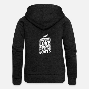 Goat billy goat sayings jewelry - Women's Premium Zip Hoodie