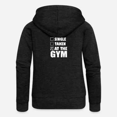 Funny Gym At the Gym - Women's Premium Hooded Jacket