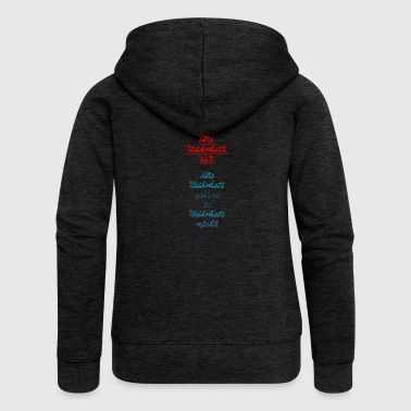 The truth is truth is in truth ... - Women's Premium Hooded Jacket