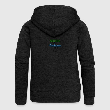 Skilled enough to become a Fundraiser - Women's Premium Hooded Jacket