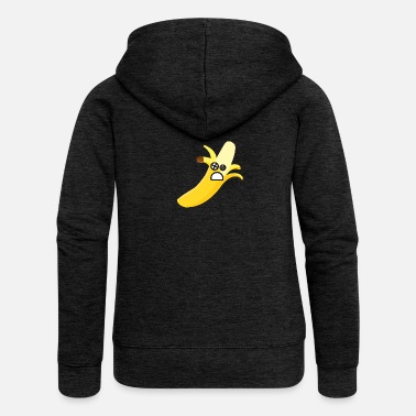 Knock Out Banana knock-out - Veste à capuche premium Femme