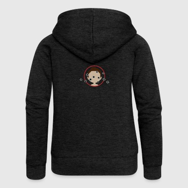 Bullet Hole Target With Bullet Holes - Women's Premium Hooded Jacket