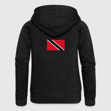 National Flag Of Trinidad And Tobago - Women's Premium Hooded Jacket