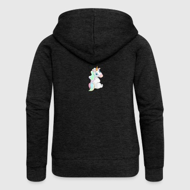 Unicorn sitting - Unicorn Sitting - Women's Premium Hooded Jacket