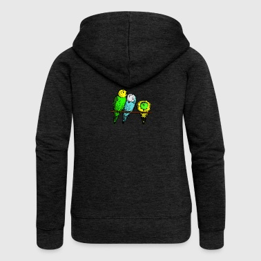 budgies - Women's Premium Hooded Jacket