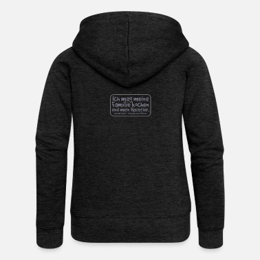 Punctuation Marks Do not be a psycho - using punctuation mark - Women's Premium Zip Hoodie