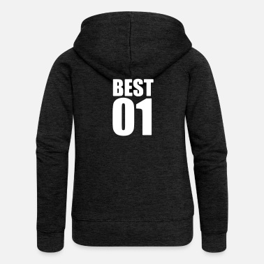 Best Friends Best friend - best friends shirt - Bff shirt - Women's Premium Hooded Jacket