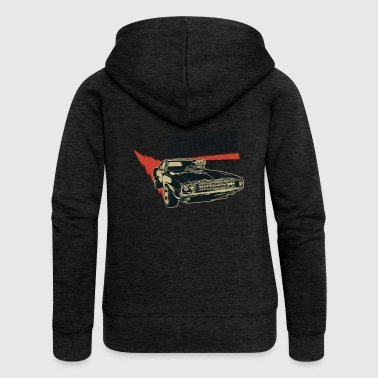 Muscle American muscle car 2 - Women's Premium Hooded Jacket