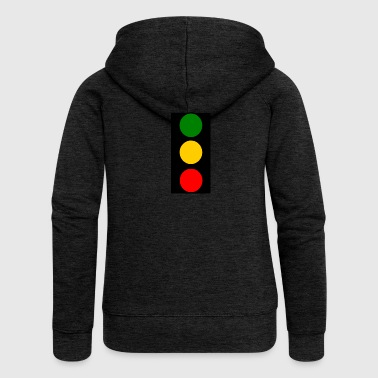 traffic lights - Women's Premium Hooded Jacket