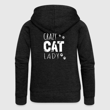 Crazy Cat Lady - cat gift - Women's Premium Hooded Jacket