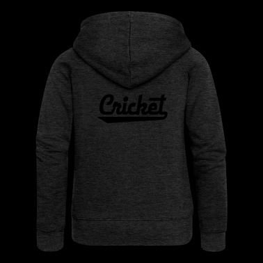 2541614 15436157 cricket - Women's Premium Hooded Jacket