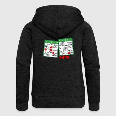 bingo - Women's Premium Hooded Jacket