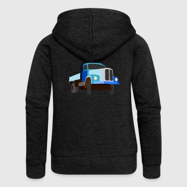 Truck truck gift - Women's Premium Hooded Jacket