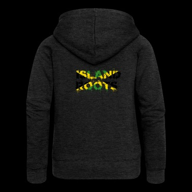 jamaica roots - Women's Premium Hooded Jacket