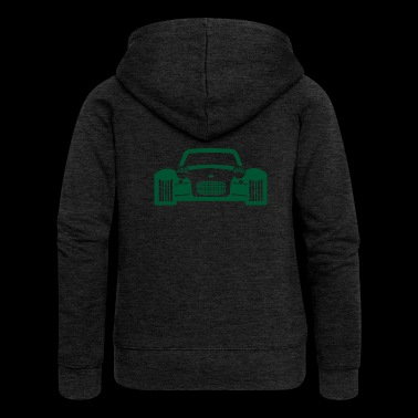 race car - Women's Premium Hooded Jacket