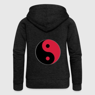 Yin and yang - Women's Premium Hooded Jacket