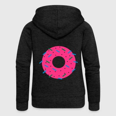 DONUT - Women's Premium Hooded Jacket