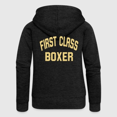First class boxer - Women's Premium Hooded Jacket