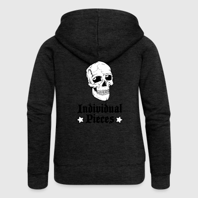 IndividualPiecesScullStars - Women's Premium Hooded Jacket