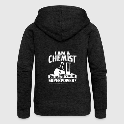 Funny Chemistry Chemist Shirt I Am A - Women's Premium Hooded Jacket