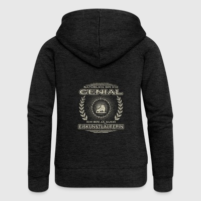 Gift Ingenious I am the master of ice cream - Women's Premium Hooded Jacket