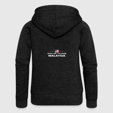 trust me from proud gift MALAYSIA - Women's Premium Hooded Jacket