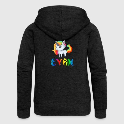 Evan unicorn - Women's Premium Hooded Jacket