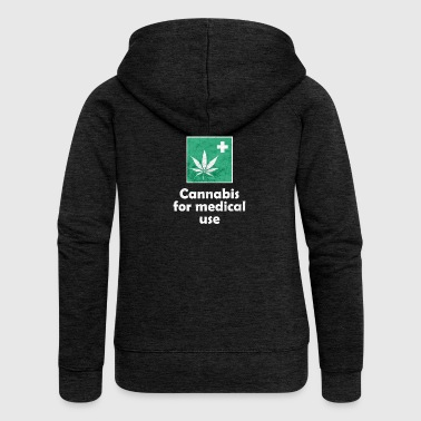 Cannabis for medical use - Frauen Premium Kapuzenjacke