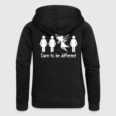 Woman dare to be different - Women's Premium Hooded Jacket