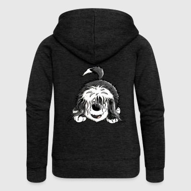 Happy Tibetan Terrier - Women's Premium Hooded Jacket