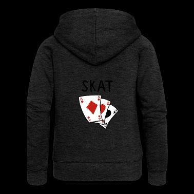 Skat card game - Skat games - Skat player - Women's Premium Hooded Jacket
