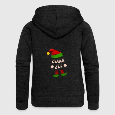 Xmas Elf - Christmas Elf - Gift - Women's Premium Hooded Jacket
