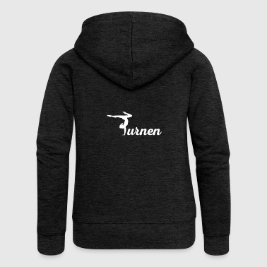 Gift for gymnasts - Women's Premium Hooded Jacket