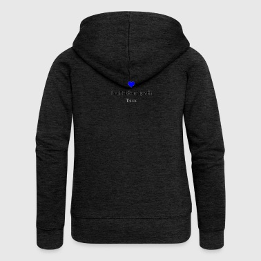 In a relationship with Trance - Women's Premium Hooded Jacket