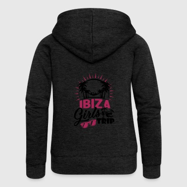 Ibiza Girls Trip - Women's Premium Hooded Jacket