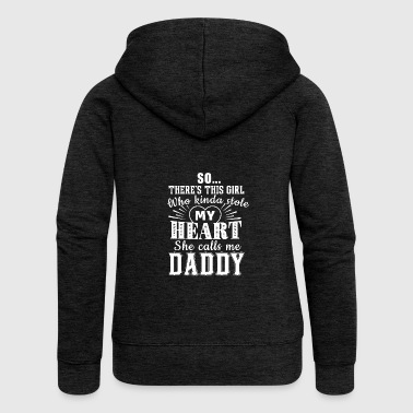 Father daughter family Father's Day gift - Women's Premium Hooded Jacket