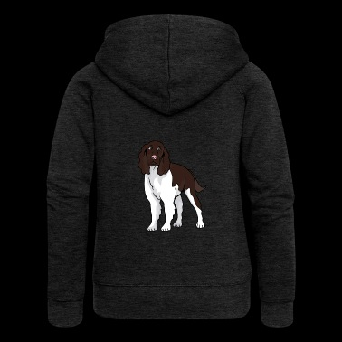 English Springer Spaniel dog - Women's Premium Hooded Jacket