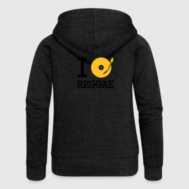 I dj / play / listen to reggae - Women's Premium Hooded Jacket