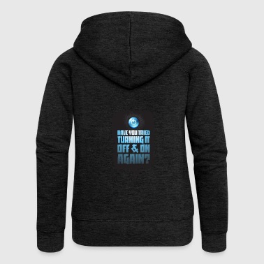 Sayings Gift Computer Scientist Computer Party Mobile Phone - Women's Premium Hooded Jacket