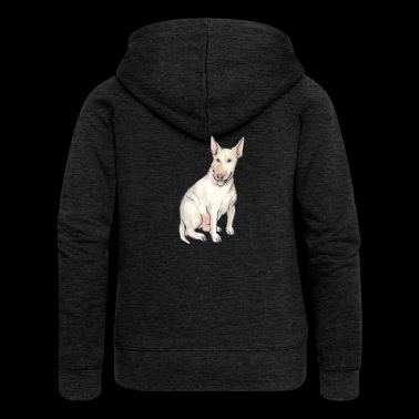 bullterrier - Women's Premium Hooded Jacket