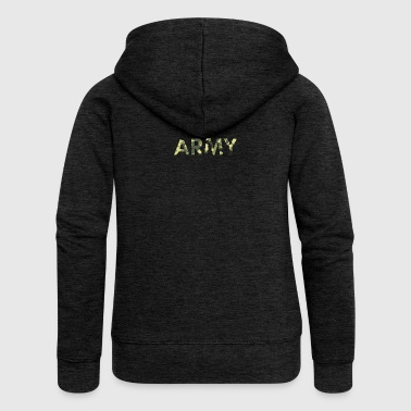 Army - Women's Premium Hooded Jacket
