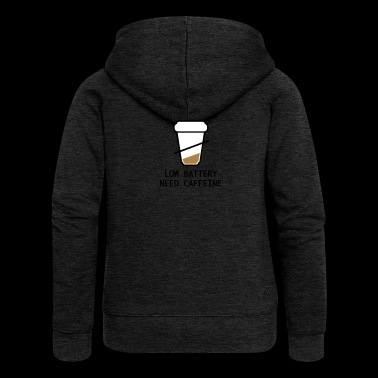 coffee - Women's Premium Hooded Jacket