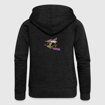 I don t drive fast I fly slow - Women's Premium Hooded Jacket