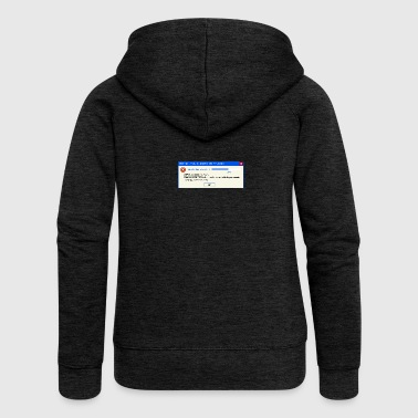 Finland Summer Error Message - Women's Premium Hooded Jacket