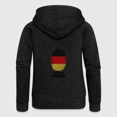 Germany flag - Made in Germany - gift - Women's Premium Hooded Jacket